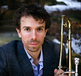 "<a href=""http://music.hunter.cuny.edu/faculty/full-time-faculty/ryan-keberle/"" >Ryan Keberle</a> (on sabbatical 2017-18)"